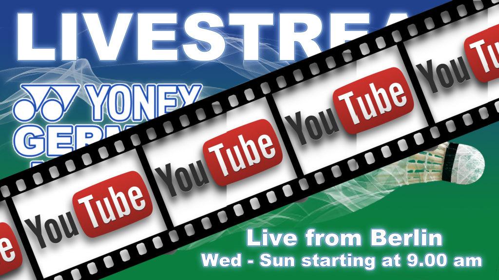 Livestream on YouTube